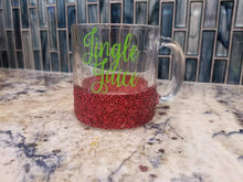Jingle Juice Glitter Mug