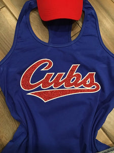 Chicago Cubs Inspired Baseball Tank