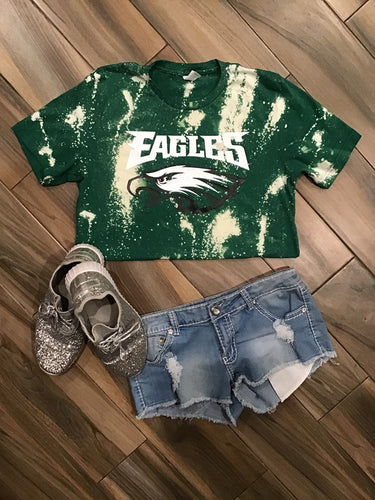 Philadelphia Eagles Bleached Tee