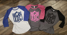 IDC Football Raglan Tee