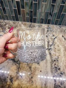 Mother Hustler Glitter Mug