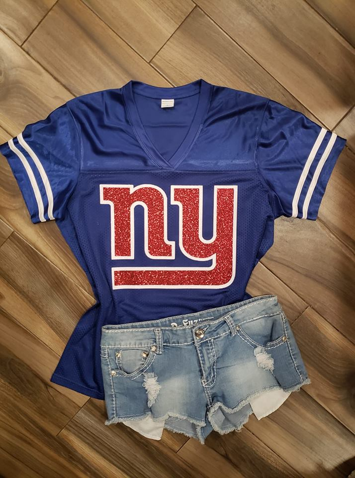 New York Giants Glitter Jersey