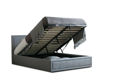 Ottoman Bed Frame with Lift Up Storage, Luxury Mattress's Available In All Sizes