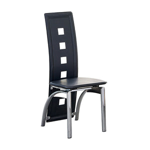 Features: High Back, Padded Seat Type: Dining Chair