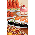 Love Formula Playmat - Delicious Food Standard - PRE-ORDER