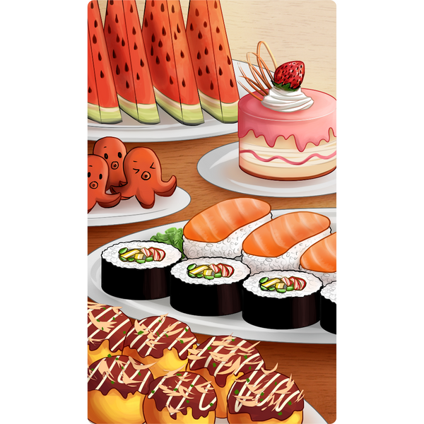 Love Formula Playmat - Delicious Food Standard