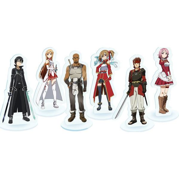 Sword Art Online: Sword of Fellows Plastic Standees
