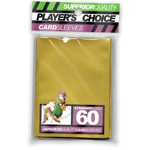 Player's Choice Standard Gold Sleeves