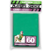 Player's Choice Standard Green Sleeves