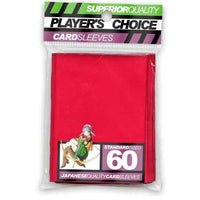 Player's Choice Standard Red Sleeves