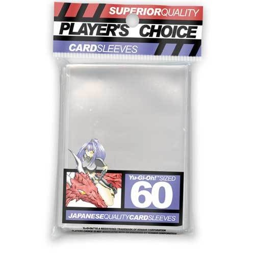 Player's Choice Mini Clear Sleeves - BACKORDERED