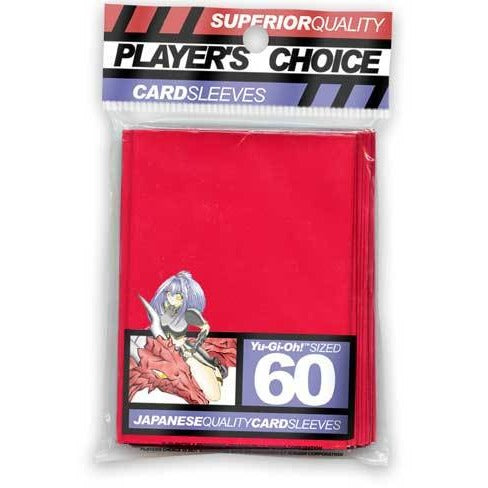 Player's Choice Yu-Gi-Oh! Red Sleeves - BACKORDERED