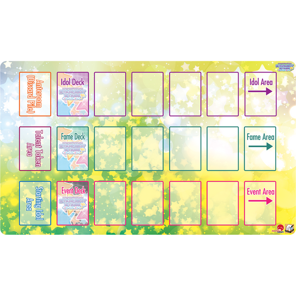 Starlight Stage Playmat - Organizational