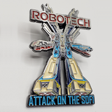 Robotech BIG pin - Attack on the SDF-1