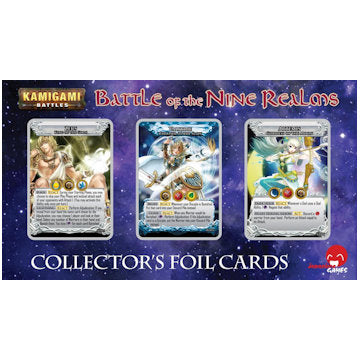 Kamigami Battles Foil Card Set - Battle of the Nine Realms