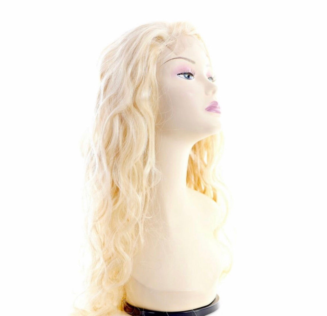 Brazilian Blonde Body Wave Lace Front Wig