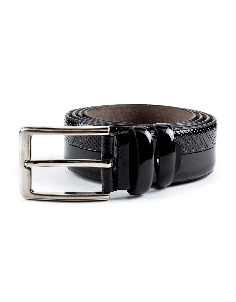 Classic Black Men Belt