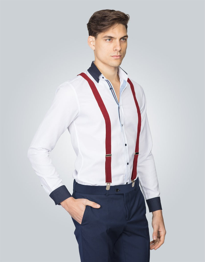 Plain Men Suspenders