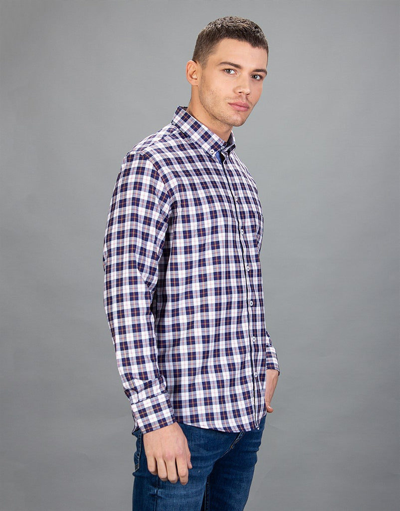 Classic Fit Oxford Check Shirt