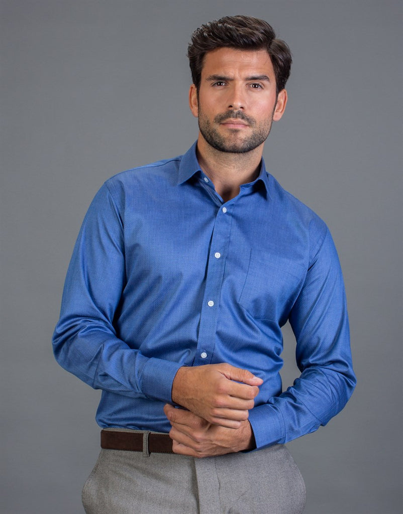 Sky Blue Stainless Classic Fit Shirt