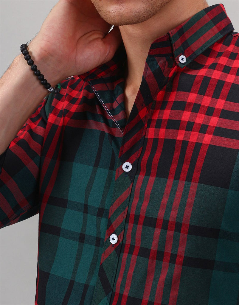 Slim Fit Check Shirt