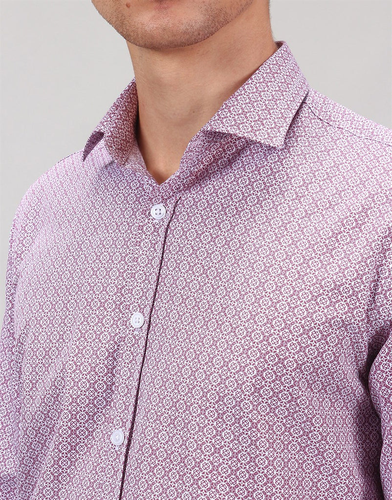 Printed Classic Fit Long Sleeve Shirt