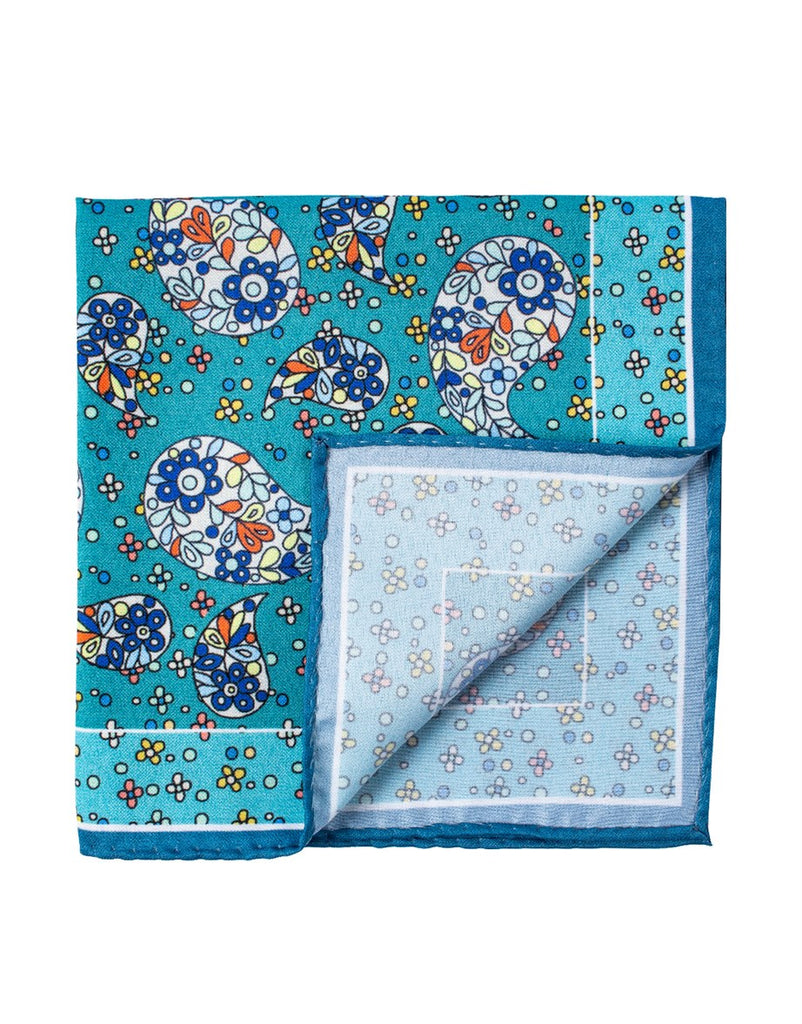 Patterned Men Pocket Square