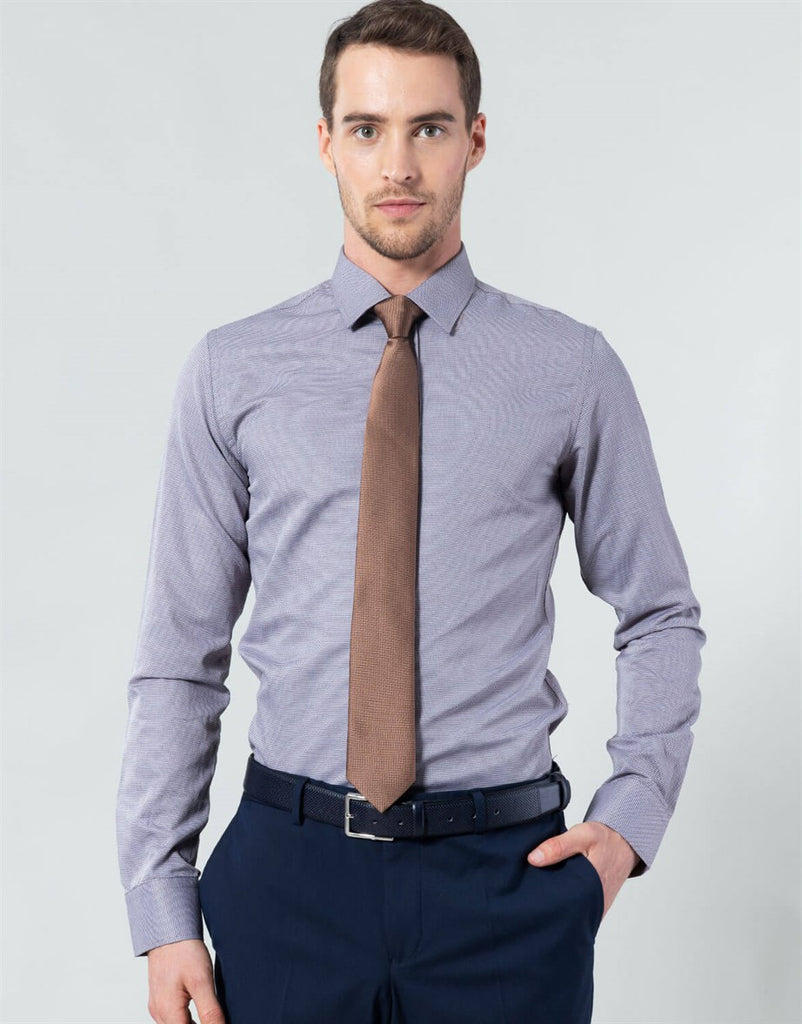 Slim Fit - Formal Long Sleeve Shirt