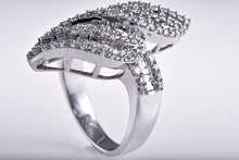 Flooded Cascade Diamond Ring