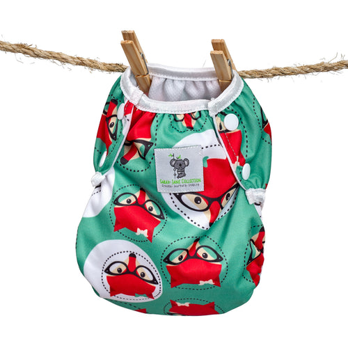 Reusable Swim Nappy- Fox