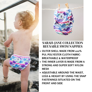 Baby & Toddler Swim Bundle- Purple Whale