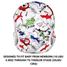 Load image into Gallery viewer, Baby & Toddler Swim Bundle- Multi-colour Shark