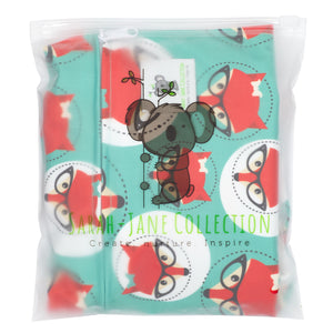 Waterproof Zip Wet Bag (Large) - Fox - 40x30cm