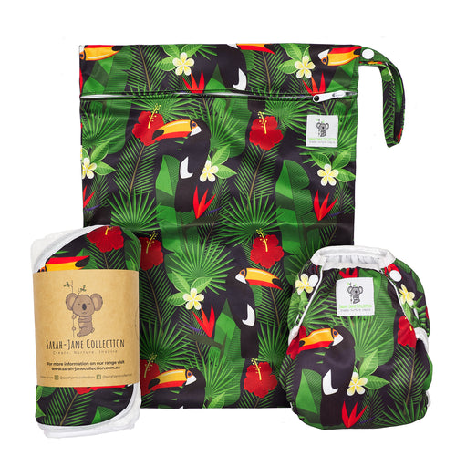 Baby & Toddler Swim Bundle- Toucan Jungle