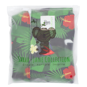 Waterproof Zip Wet Bag (Large) - Toucan Jungle - 40x30cm