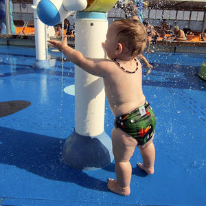 Reusable Swim Nappy- Toucan Jungle