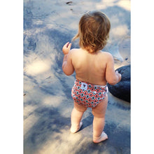 Load image into Gallery viewer, Reusable Swim Nappy Bundle- Set of 2 - Rainbow & Feather