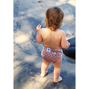 Reusable Swim Nappy Bundle- Set of 2 - Rainbow & Feather
