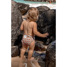 Load image into Gallery viewer, Reusable Swim Nappy- Boho Rainbow