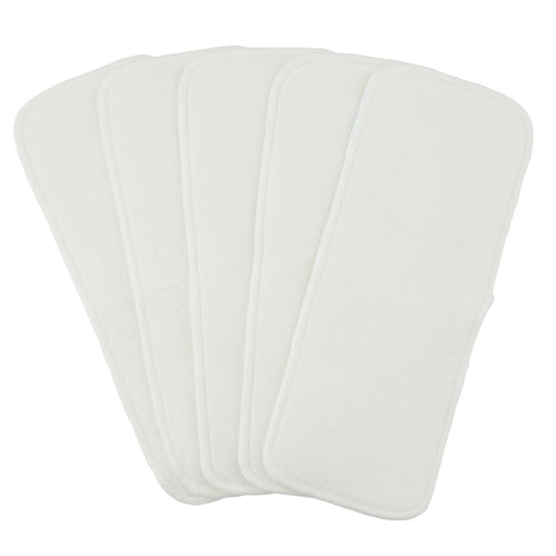 Bamboo 4 Layer Inserts- Set of 5
