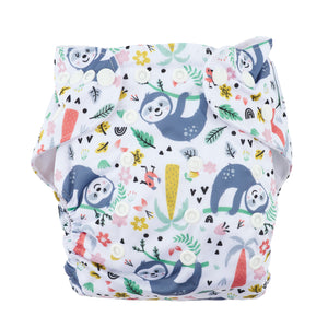 Modern Cloth Nappy (Pocket-OSFM)- 0-3 yrs- Sloth