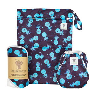 Baby & Toddler Swim Bundle- Blue Octopus