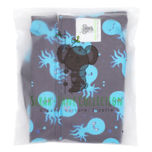 Load image into Gallery viewer, Reusable Swim Nappy & Waterproof Wet Bag- Octopus