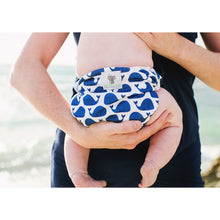 Load image into Gallery viewer, Reusable Swim Nappy- Blue Whale