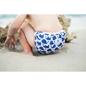 Reusable Swim Nappy- Blue Whale