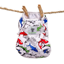 Load image into Gallery viewer, Reusable Swim Nappy- Shark