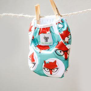 Reusable Swim Nappy Bundle - Set of 2 - Octopus & Fox