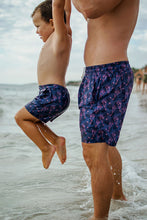 Load image into Gallery viewer, MENS Board Shorts | Swim Shorts | Faded Flamingo
