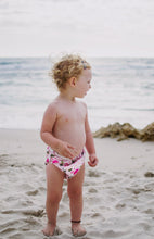 Load image into Gallery viewer, Reusable Swim Nappy Bundle- Set of 2 - Flamingo & Rainbow