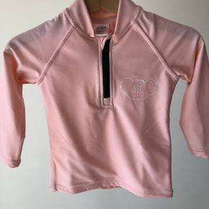Rash Guard Top - UPF30+ Blush Pink